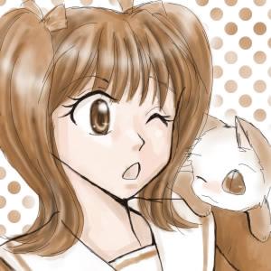 セピアパレットの鈴蘭ちゃん