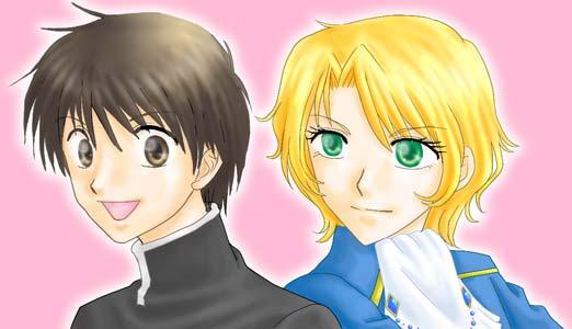 ユーリ陛下とプー閣下