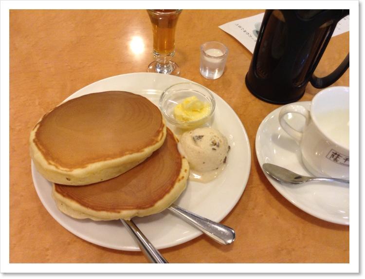 【パンケーキの旅】珈琲館 (平井)