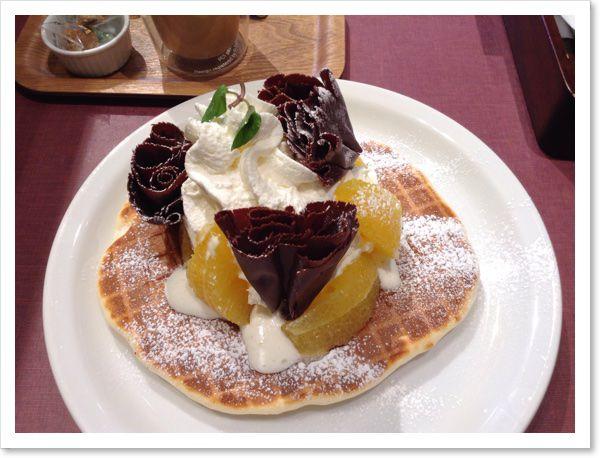 【パンケーキの旅】MELLOW BROWN COFFEE さいたま新都心店