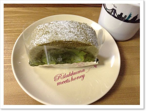 カトレアのロールケーキ♪