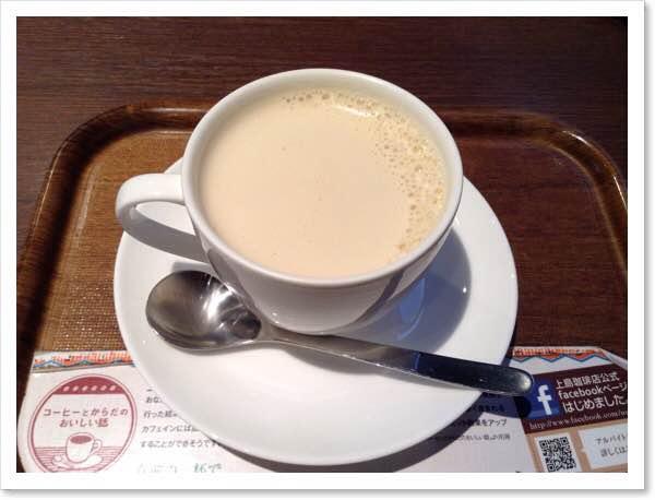 週末、上島珈琲。